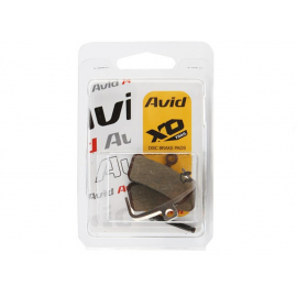SRAM - AVID  BRAKE PADS ORGANIC/STEEL, (1 SET) - TRAIL/GUIDE: