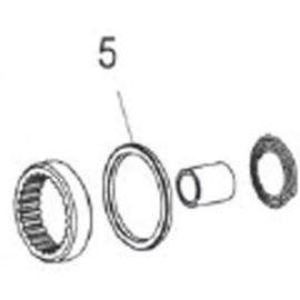 Seal for 98 / TD / 240 / 340 / 440 Freehub body and hub shell