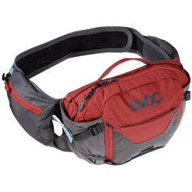 HIP PACK PRO HYDRATION PACK 3L & 1.5L BLADDER 2019: CARBON GREY/CHILLI RED 3 LITRE