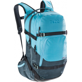 LINE 28L BACKPACK 2019: HEATHER SLATE/HEATHER NEON BLUE 28 LITRE