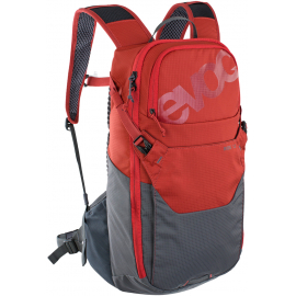 RIDE PERFORMANCE BACKPACK 12L + 2L BLADDER 2021: CHILI RED/CARBON GREY 12 LITRE