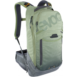 TRAIL PRO PROTECTOR BACKPACK 10L 2021: LIGHT OLIVE/CARBON GREY L/XL