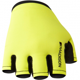 Track men's mitts, hi-viz yellow medium