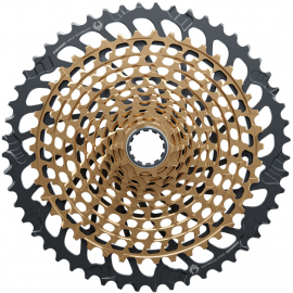 Cassette XG-1299 Eagle 10-52 12 speed Gold