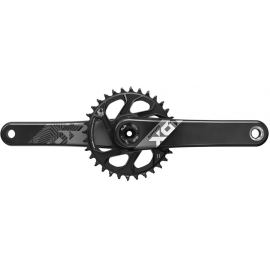 SRAM CRANK X01 EAGLE FAT BIKE 4 DUB 12S W DIRECT MOUNT 30T X-SYNC 2 CHAINRING (DUB CUPS/BEARINGS NOT INCLUDED):170MM