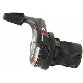 SRAM X0 SHIFTER - GRIP SHIFT -FRONT:  3 SPEED